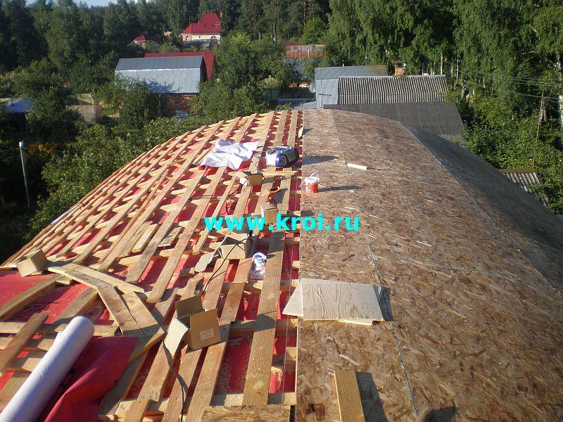 Полукруглые крыши как и что сделать 99