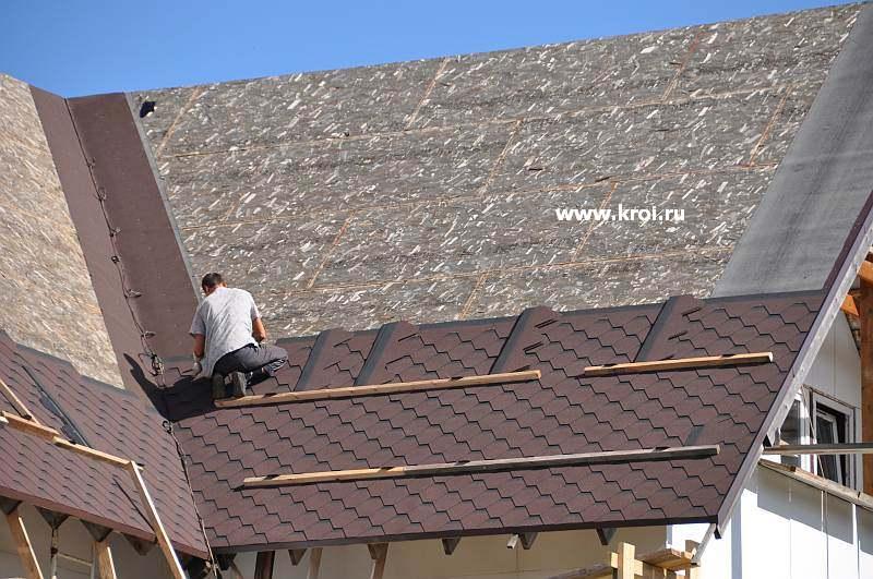 Как покрыть крышу мягкой черепицей своими руками 783