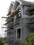Кирпичный дом утеплён пенополистиролом, система Ceresit