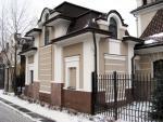 Мякинино, дом охраны утеплён пенополистиролом, система Ceresit