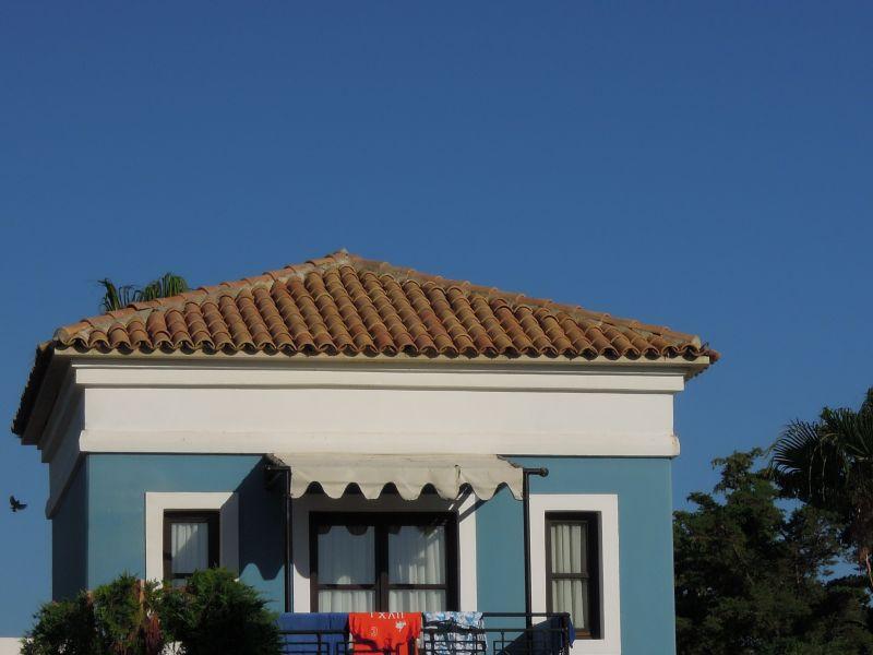 Кровельные конструкции и крыши о. Крит