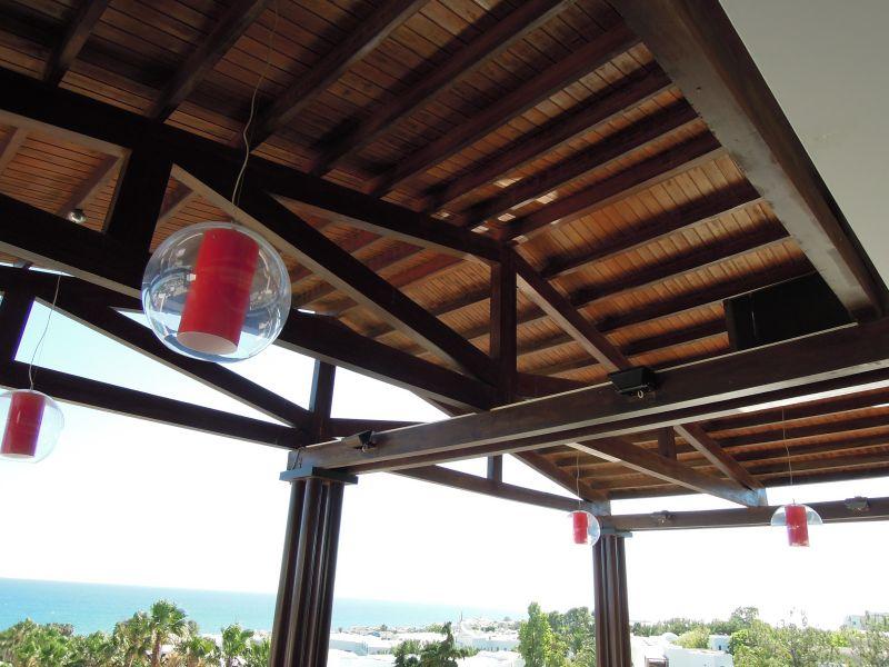Кровля ресторана о. Крит