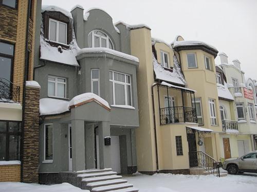 Коттеджный посёлок в подмосковье, утепление ПСБ-С, Ceresit
